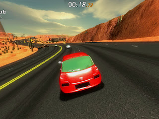 Balap kultus seri yang dibuat pada tahun  : Crazy Cars - PC [Full Version]