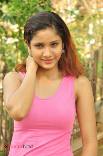 Aarthi Spicy Cute young new teenage actress in Tank Top at SR Media Production No 2 Movie Opening