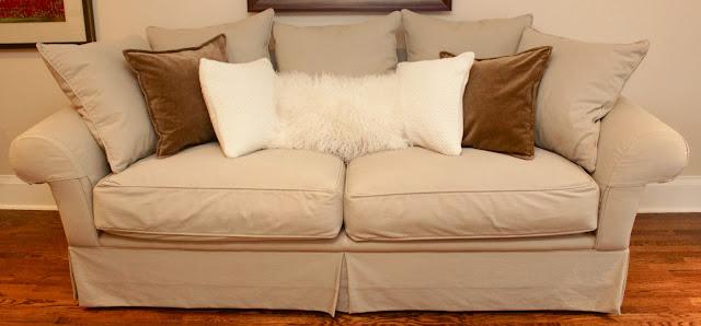 Sara Russell: Velvet + Fluffy Pillows