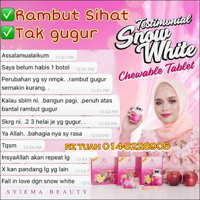 snow white chewable tablet