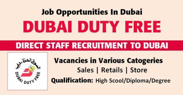 Work in Dubai - Apply For Employment Opportunities From Dubai Duty in UAE