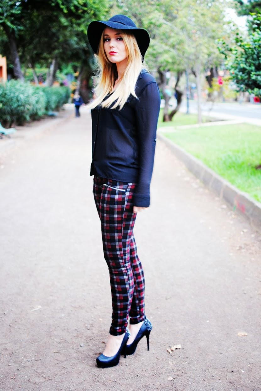 nery hdez, fashion union , tartan, look tartan, pantalones tartan