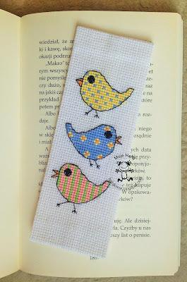 Angielski ptaszki – zakładka do książki