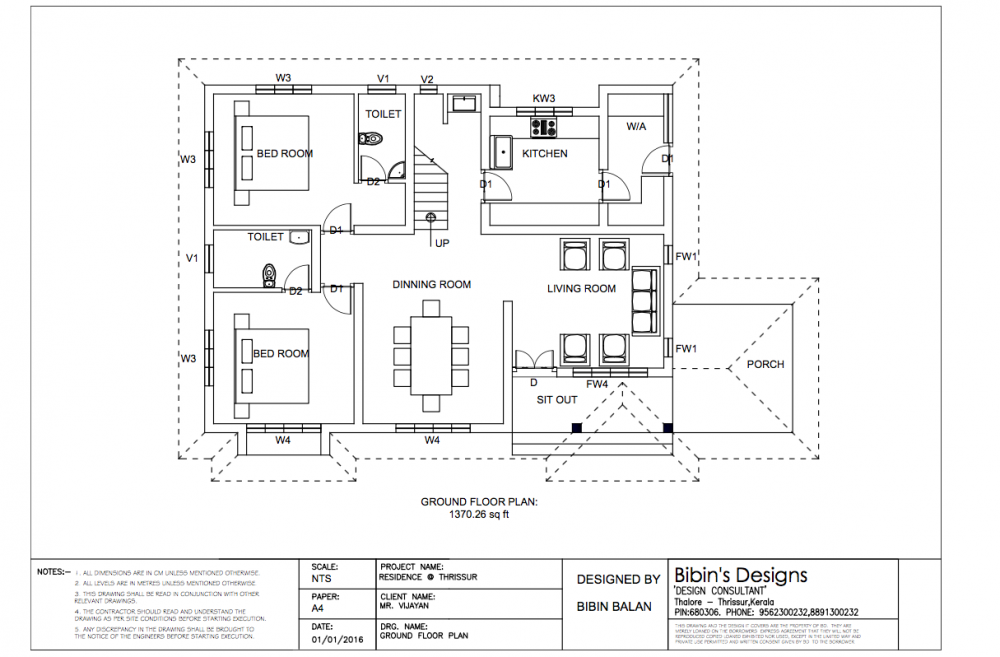 Free House Plan 2172 Sq Ft 4 Bedroom Attractive