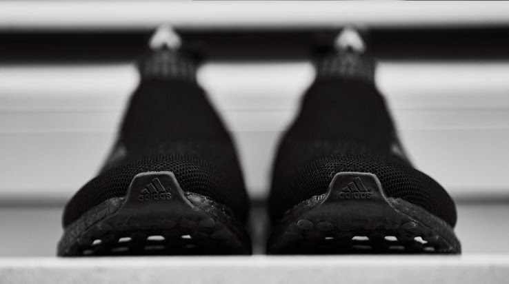 official photos 19578 0c1f5 Triple Black Adidas Ace 16+ PureControl Ultra Boost Released ...