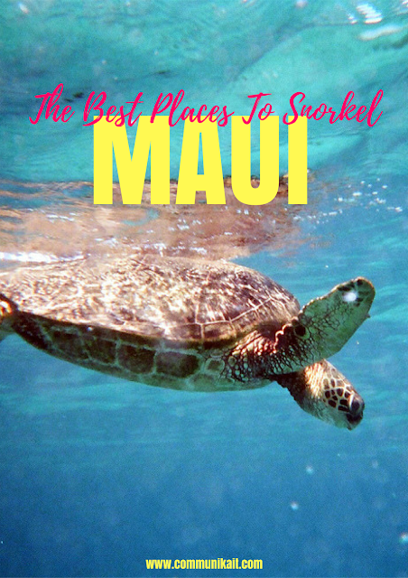 My Five Favorite Places To Snorkel On Maui