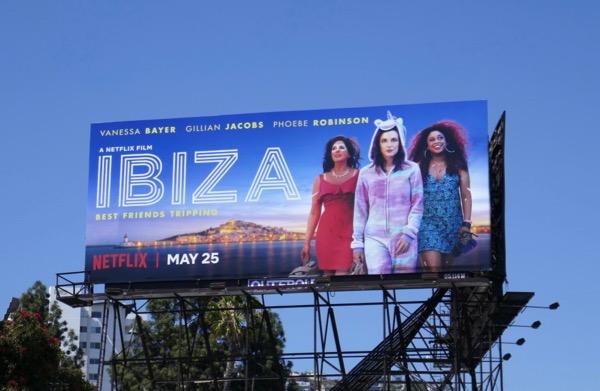 Ibiza film billboard
