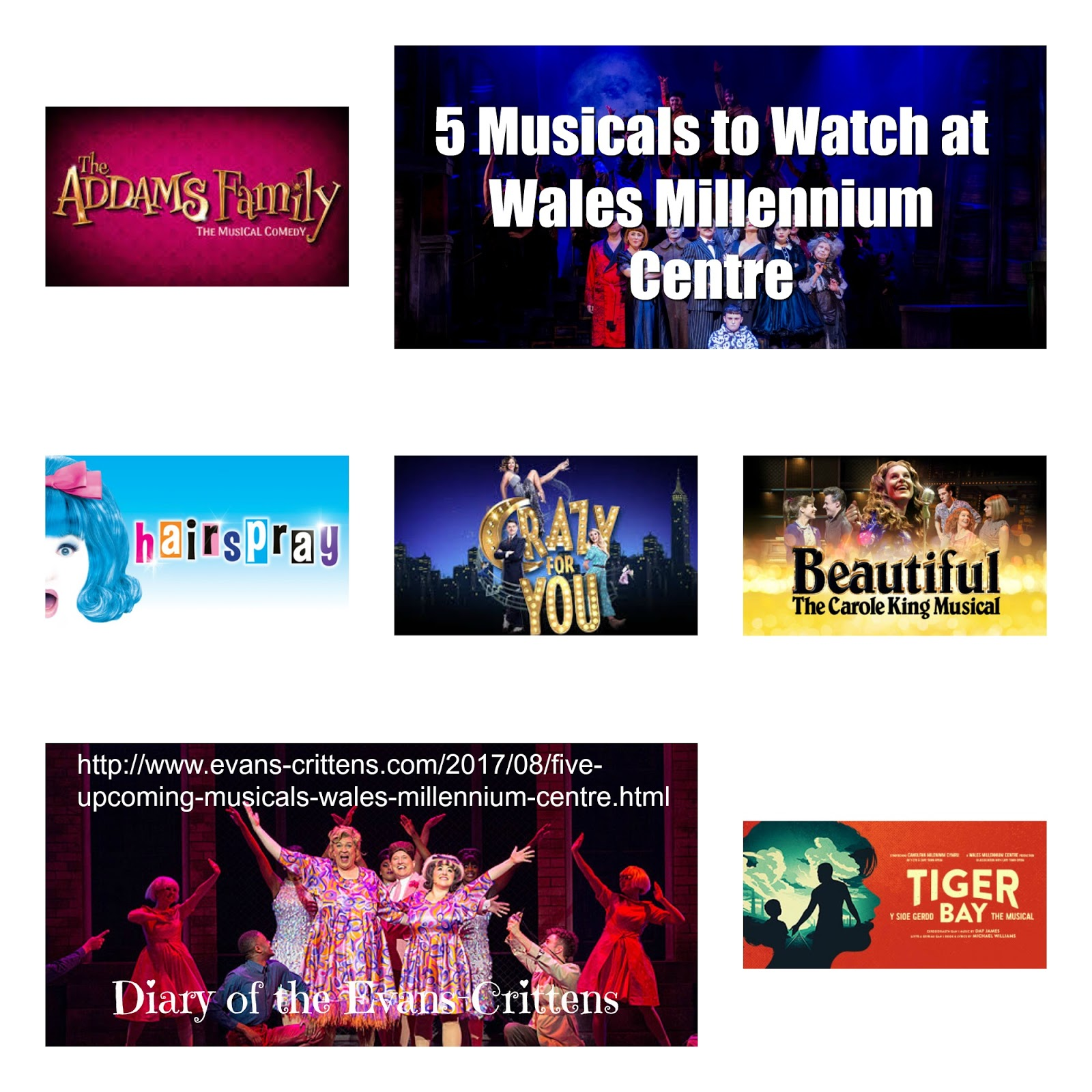 , Five Upcoming Musicals to Watch at Wales Millennium Centre, Cardiff