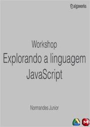 Explorando a Linguagem JavaScript