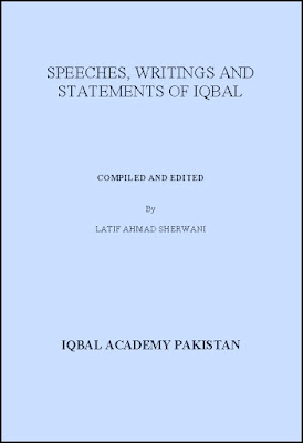 Speeches, Writings and Statements Of Iqbal PDF