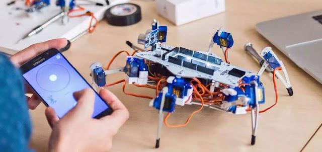 STEMI HEXAPOD - EDUKACIJSKI ROBOT