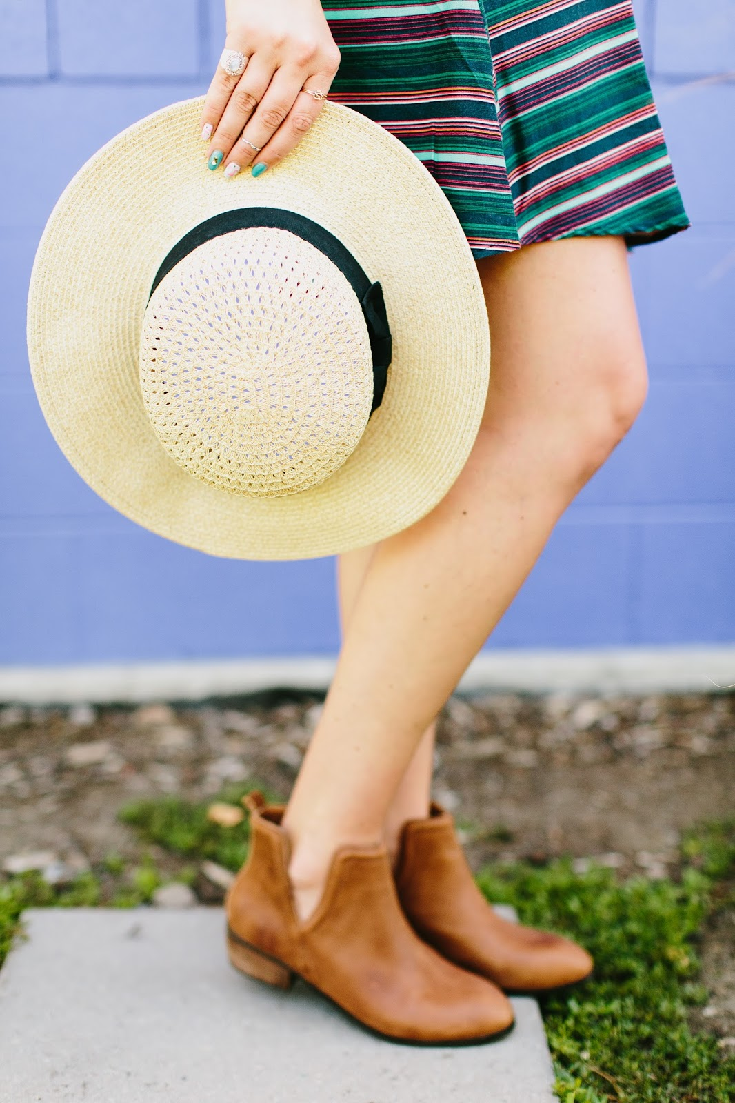 Summer Hat, Summer booties, Cute Booties