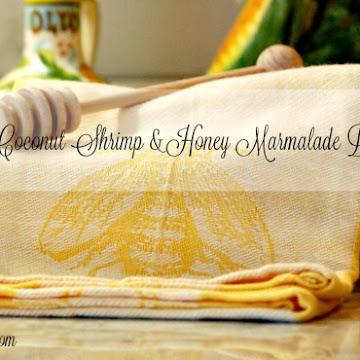 Beer Batter Coconut Shrimp & Honey Marmalade Dipping Sauce