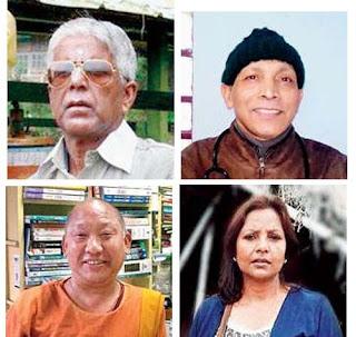 Dipankar Basu, Anup Kumar Bari, Penjo Bhutia, Rangu Souriya