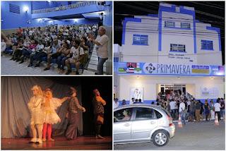 PRIMAVERA DO TEATRO: festival atrai artistas nordestinos, grande público e incentiva a cultura, em Guarabira