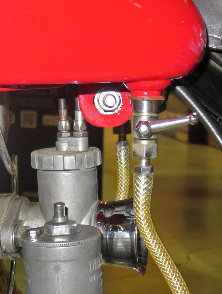Small valve.