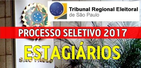 Apostila Processo Seletivo TRE-SP 2017 Estagiário