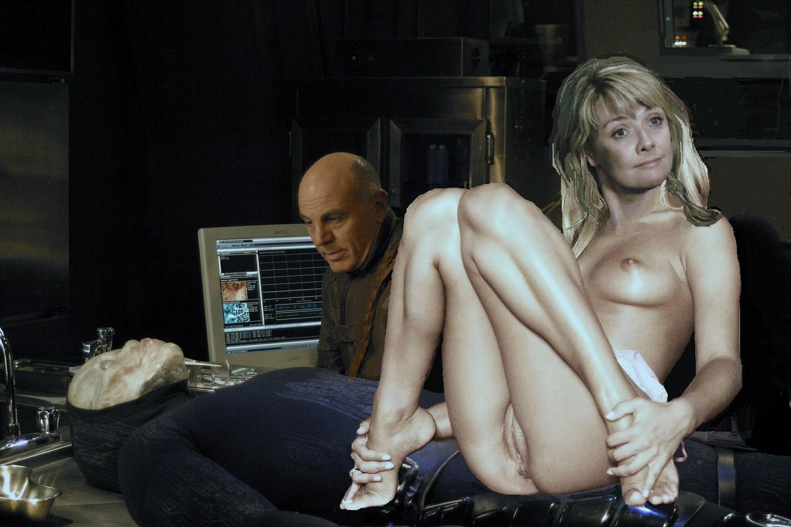 Amanda Tapping Boobs amanda tapping nude fakes hot girls wallpaper - girls