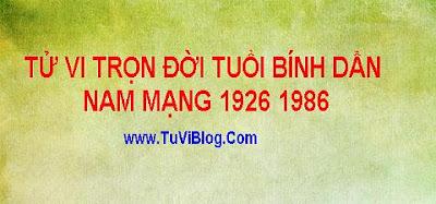 Tu Vi Tron Doi Binh Dan 1926 1986