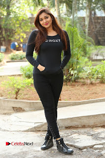 Actress Aswini Latest Stills in Black Denim Jeans  0181.JPG