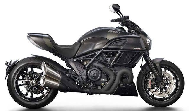 Thông số kỹ thuật Ducati Diavel 2016