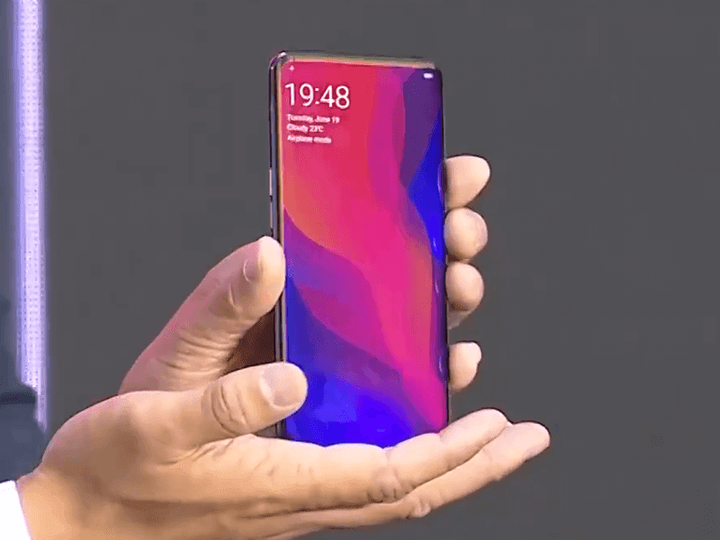 OPPO Find X flagship with notchless bezel-less screen and pop-up cameras goes official!