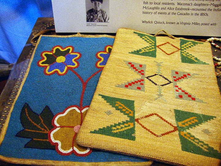 Native American beadwork and weaving, Columbia Gorge Museum