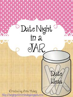 Date Night Jar Plus Free Printables Hanging With Mrs Hulsey