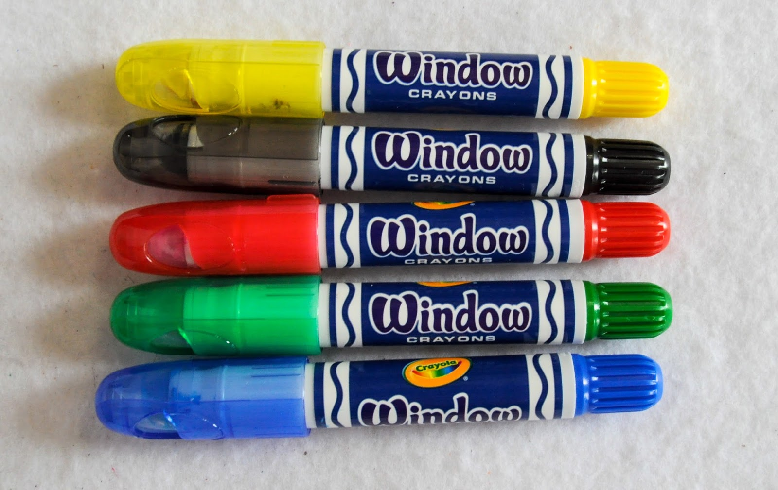 5 Count Crayola Window Crayons What S Inside The Box