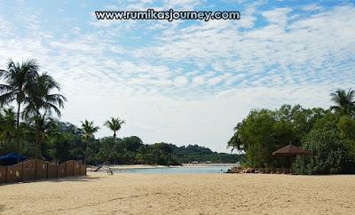 pantai palawan sentosa island singapura