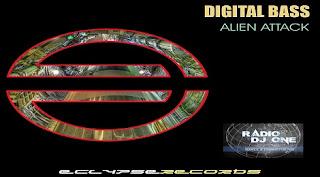 Digital Bass - Alien Attack @ Radio DJ ONE