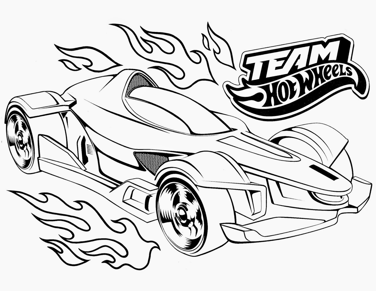 Hot Wheels Racing League Hot Wheels Coloring Pages