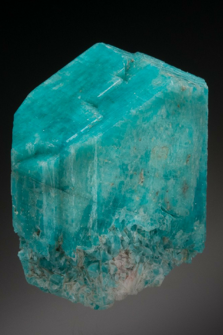 Hermosa gema azul