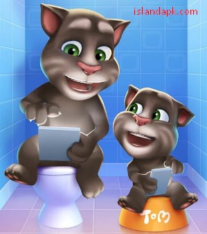 Download My Talking Tom Mod Apk v4.1.1.9 Android (unlimited coins)
