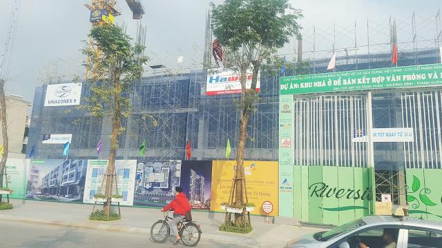 Cập nhật tiến độ chung cư 349 Vũ Tông Phan