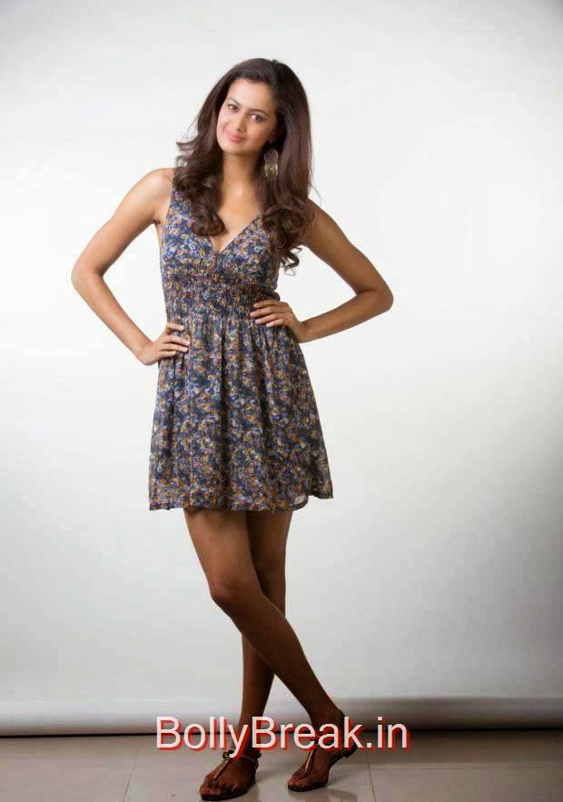 Shubra Aiyappa Photos, Shubra Aiyappa hot HD Pics in Skirt Dress from Yavvanam Oka Fantasy Movie