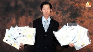 Welin Kusuma - pemilik 19 gelar sarjana