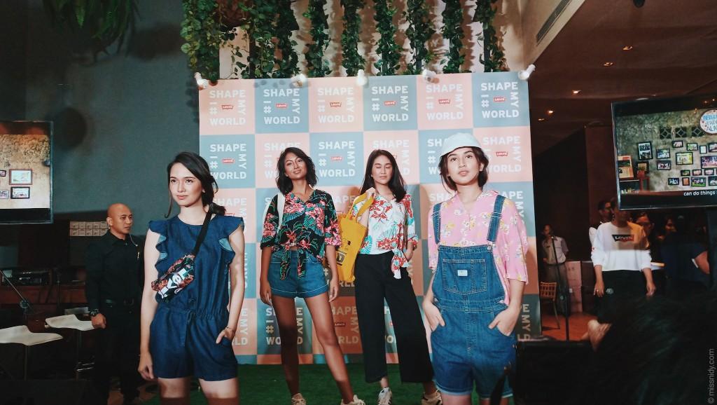 fashion show levi's indonesia
