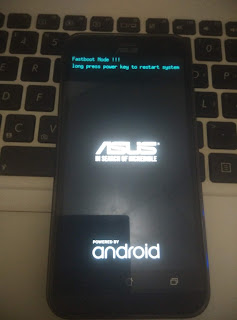 Cara Flash Asus Z00RD Raw via Fastboot Mode 100% Done