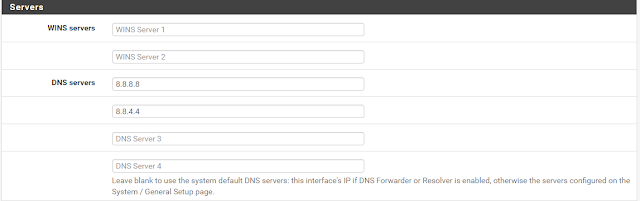 Hướng dẫn cấu hình DHCP Server và DHCP Relay trên Pfsense