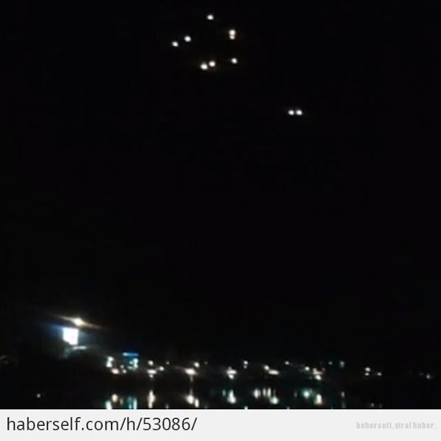 Mass UFO Sightings Bei...