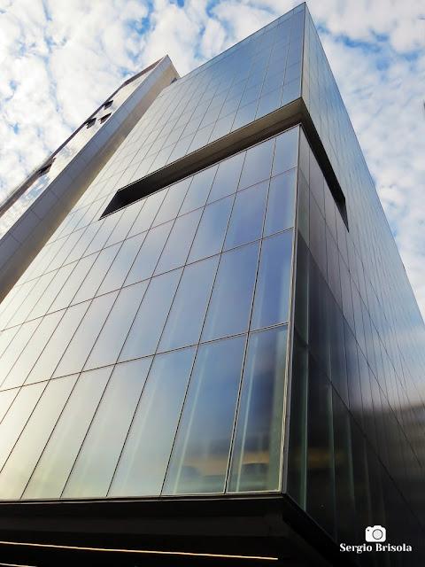 Perspectiva inferior do Instituto Moreira Salles - IMS  - Consolação - São Paulo