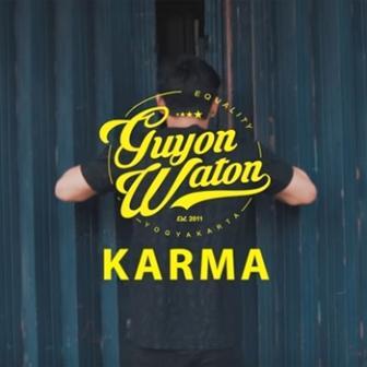 Lirik Lagu Guyon Waton Karma Sentral Lirik