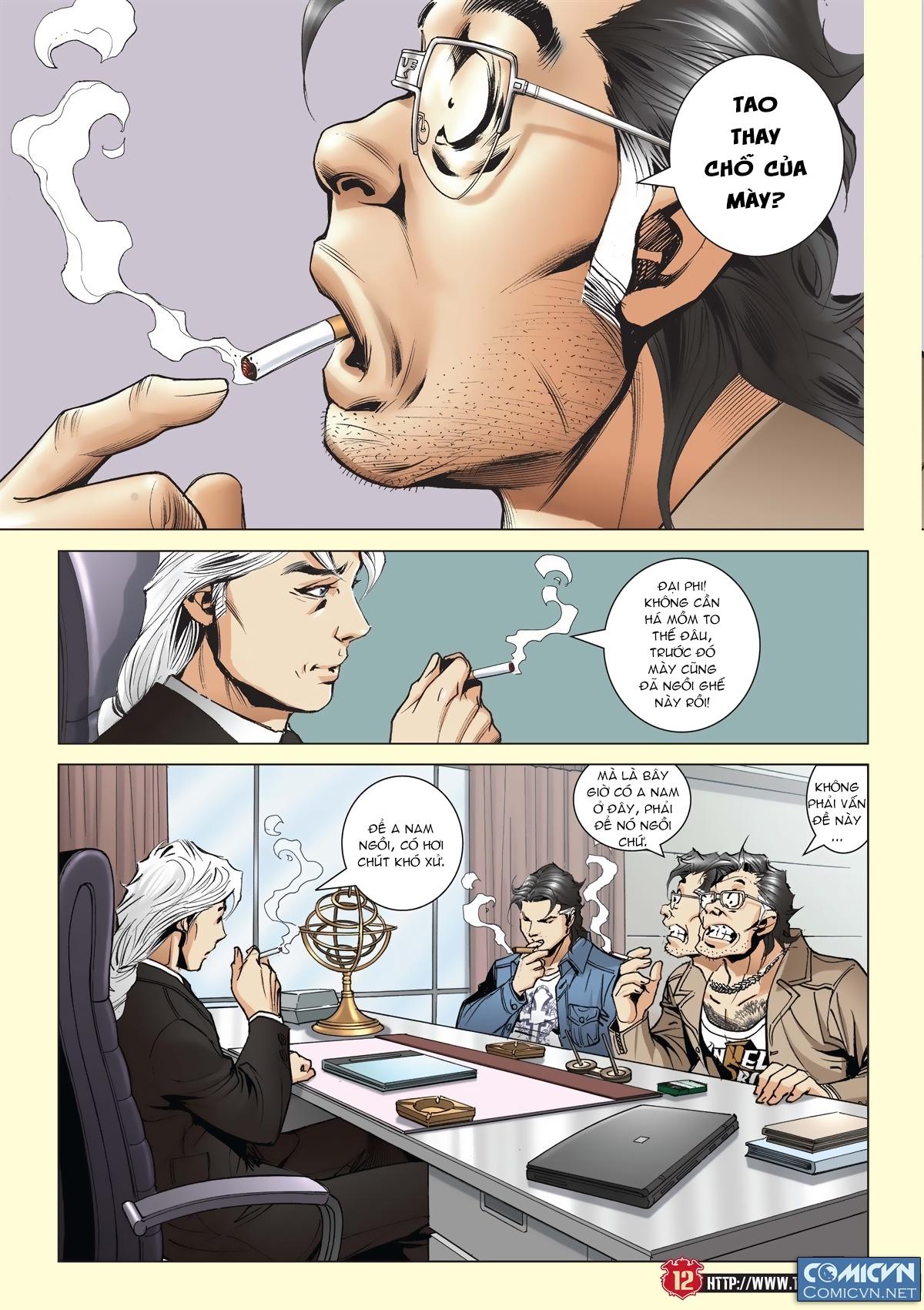Người Trong Giang Hồ chapter 2011: hàn tân bỏ trốn trang 11
