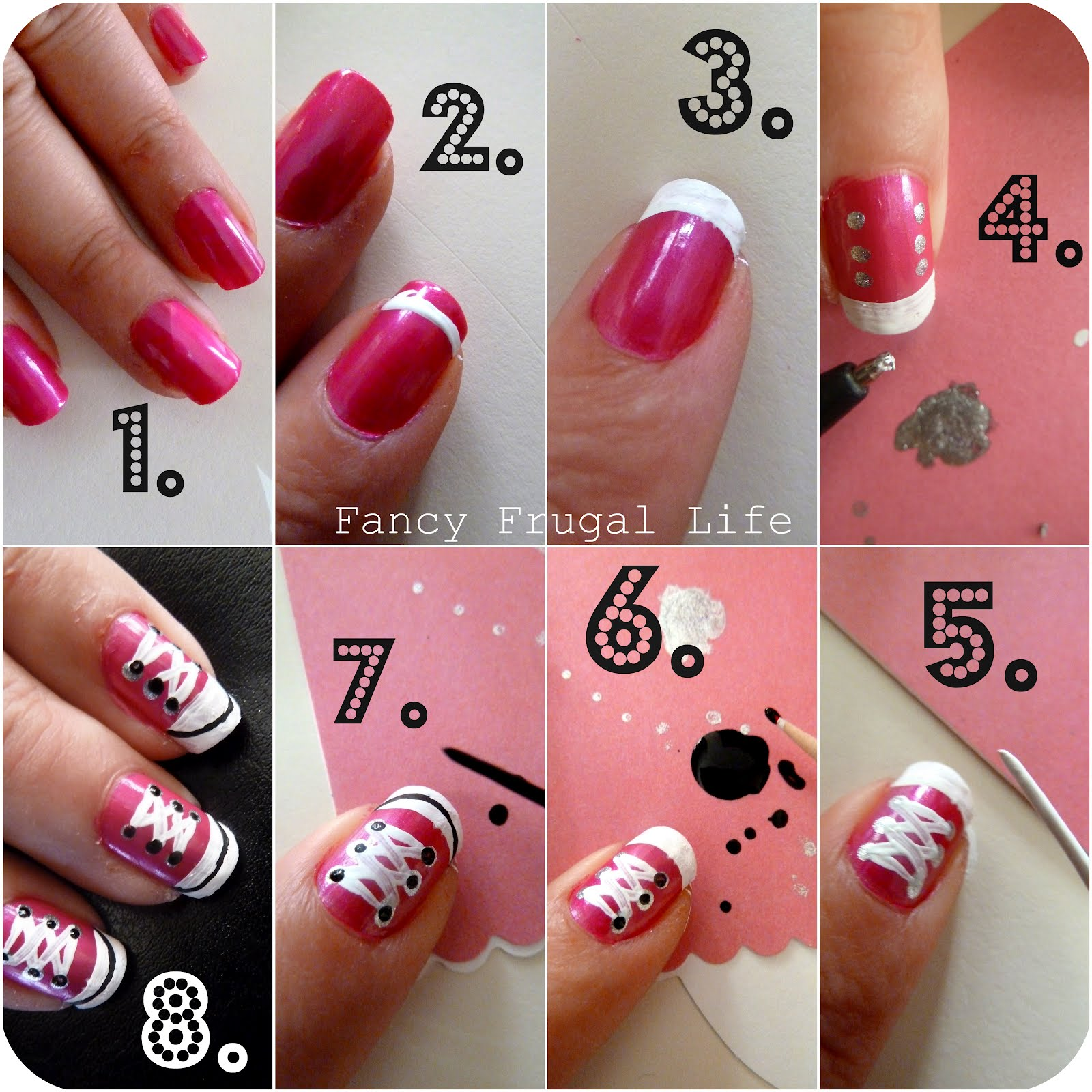 3b677407e81e5c DIY Converse Nails Tutorial