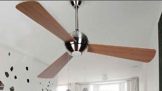 ventilador de techo, ventilador moderno techo, ventilador palas reversibles