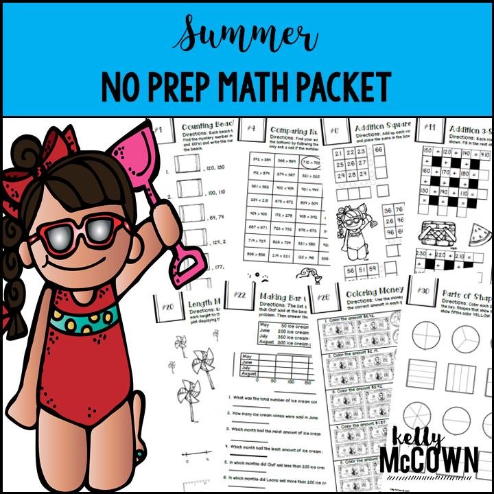 Kelly McCown: 2nd Grade Summer Math Review