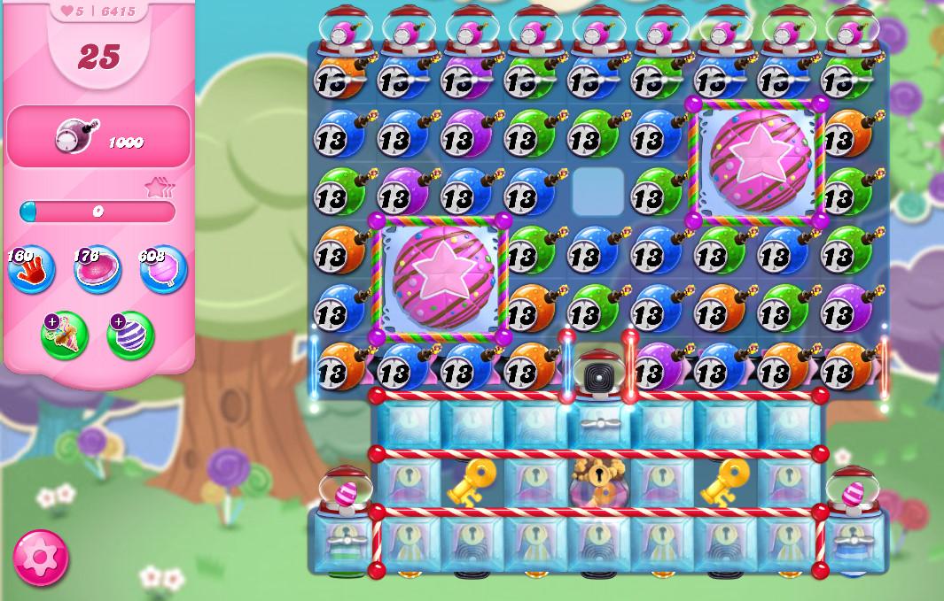 Candy Crush Saga level 6415