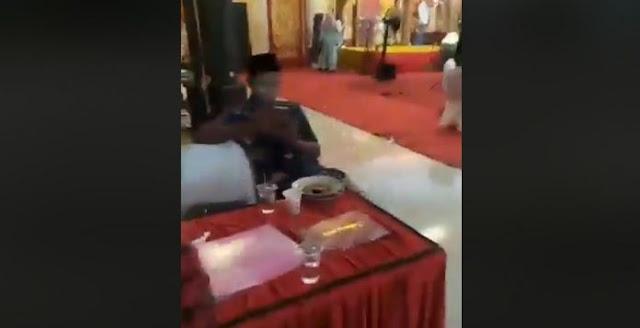 Astaghfirullah, Heboh Video Pesta Pernikahan dengan Diiringi Orgen Tunggal di Mesjid Nurul Iman Padang