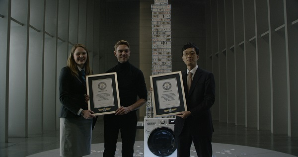 LG Centum Guinness World Record